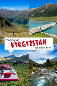 Everything you need to know about the Jyrgalan trek, the newest adventure destination in Kyrgyzstan! Go trekking in Kyrgyzstan. #centralasia #hiking #Kyrgyzstan