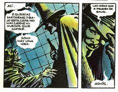 """Las ideas son a prueba de balas.""  - V"