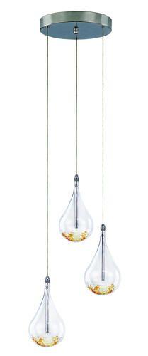 "Patriot Lighting Elegant Home Teardrop 3 Light 80"" Pendant at Menards $139"