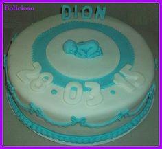 geboorte taart, jongen / birth cake, boy https://www.facebook.com/bolicioso