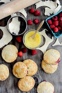 Lemon-Raspberry Hand Pies | www.floatingkitchen.net @floa