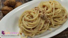 spaghetti ricotta e noci