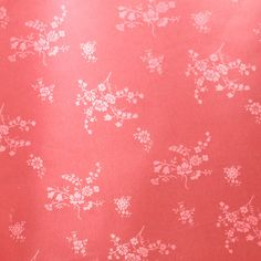 Pink Floral, Satin Damask, Fashion Fabric, Flowers, Lightweight Nylon, half yard, B34 by DartingDogFabric on Etsy