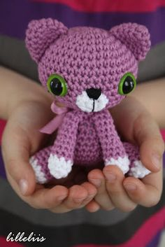 lilleliis.blogspot.com: Little kitty - new revision of the pattern