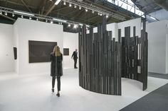 Armory Show. The largest confirmed sale by Saturday evening was $500,000 for a work by Italian painter Alberto Burri