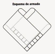 DIY como hacer un bonito poncho asimétrico - Patrones gratis