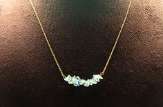 1pcsjen-0160apg  handmade necklace with natural apatite by 3yes