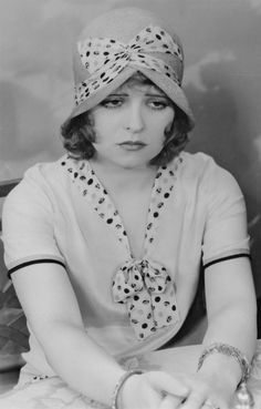 """Clara Bow... her last public exposure, albeit fleeting, came in 1947 on the radio show Truth or Consequences. Bow was the mystery voice in the show's """"Mrs. Hush"""" contest."""