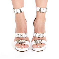 Jeffrey Campbell 'Gospel', All The Way, white From The Plus Size Fashion Community At www.VintageAndCurvy.com