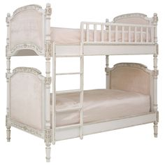 Rosenberry Rooms has everything imaginable for your child's room! Share the news and get $20 Off  your purchase! (*Minimum purchase required.) Josephine Bunk Bed in Versaille Creme and Empress Pink