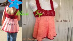❤ ✿ Mi Rincón del Tejido ✿ ❤: Como tejer blusa top niña grannys crochet talla 10 - How to crochet top blouse girl grannys size 10 Blusas Top, Crochet Baby, Peplum, Crochet Patterns, Summer Dresses, Tops, Videos, Women, Youtube
