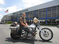 "Legend ""Panhead Billy"" attended the 1st Annual Bikes & Bombers event."