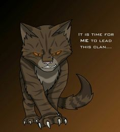 I liked Tiger*. His father left him and ThistleClaw taught him bad, he didnt have a choice they just showed him the darkside. If ThistleClaw had not been so hard on him,Tiger* could have been Fire*'s deputy,and Ravenpaw would come back,RedTail,Blue*,RunningWind,Brindleface,SwiftPaw could be alive!And if he was nice HawkFrost wouldnt be bad, so Fire* wouldnt have lost a life to the trap and Fire* wouldve had and other life after the tree fell on him. So if Tiger* was good...Fire* wouldve…