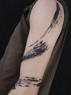 Chest Tattoo, Arm Tattoo, Sleeve Tattoos, Word Tattoos, Body Art Tattoos, Brush Stroke Tattoo, Small Words Tattoo, Freedom Tattoos, Tattoo Now