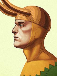 Incríveis ilustrações detalhadas de Heróis e Vilões da Marvel por Mike Mitchell…