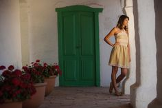 Vestido VALENCIA en bambula con detalles de puntillas de INEZ DE VRIE Argentina. Tienda On Line www.inezdevrie.com.ar.