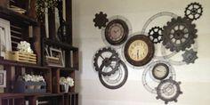 Steampunk Gear Clock