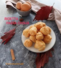 Pasta Choux, Eclair, Cereal, Good Food, Breakfast, Ethnic Recipes, Morning Coffee, Eclairs, Healthy Food
