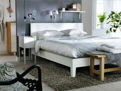 I'm planning on buying that bed frame and nightstand! - from IKEA