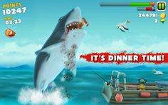 Xperia Gaming Hacker: Hungry Shark Evolution (Unlimited Money and Diamon...