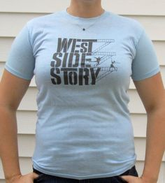 Vintage Baby Blue West Side Story Show T MED by TabulousSundries, $15.00