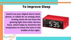 Mental Health Support, Digital Alarm Clock, Sleep
