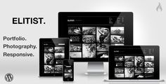 Elitist - Responsive Portfolio WP Theme - ThemeForest Item for Sale