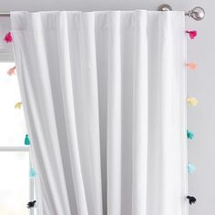 Tassel Blackout Curtain 84 Rainbow Multi 2019 Pottery Barn Teen Tassel Blackout Curtain Rainbow Multi The post Tassel Blackout Curtain 84 Rainbow Multi 2019 appeared first on Curtains Diy. Teen Curtains, Rainbow Curtains, Sheer Linen Curtains, Tassel Curtains, White Curtains, Bedroom Curtains, Bed Linen, Playroom Curtains, Colorful Curtains