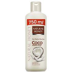 Natural Honey Coco Addiction Gel De Douche 750ml Cosmetiques Online