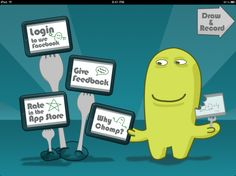 ScreenChomp- interactive video app- great for making tutorial videos for students. From Hannah B. GradstudentSLP. Pinned by  SOS Inc. Resources.  Follow all our boards at http://pinterest.com/sostherapy  for therapy   resources.