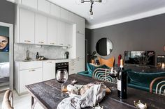 Decor, Wall, Cabinet, Furniture, Photo Wall, House, Kitchen, Home Decor, Kitchen Cabinets