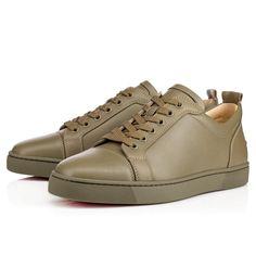 dfe40803008f CHRISTIAN LOUBOUTIN Nono Strap Flat Latte Leather - Men Shoes - Christian  Louboutin.  christianlouboutin  shoes
