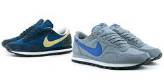 Nike Air Pegasus- first pair of trainers I ever owned. In blue/gold. I loved them.