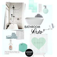 """Bathroom redo"" by gelykou on Polyvore Hello Beautiful, Bath Mat, Sink, Bathroom, Polyvore, Stuff To Buy, Design, Women, Home Decor"