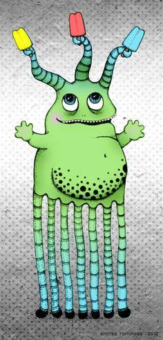 Popsicle Monster Guy