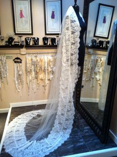 Custom designed veils and accessories by Antonietta Ciaccia Cervantes for Veiled By ChaCha Co. www.veiledbychacha.net