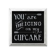 "Fetco® ""Icing On My Cupcake"" Wall Decor"