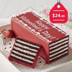 Happy Valentine's Day Torte, $24.99