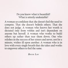 Deep life quotes- Women empowering, woman& inspirations & Becca Lee Deep life quotes- Women empowering, woman& inspirations & Becca Lee The post Deep life quotes- Women empowering, woman& inspirations & Becca Lee appeared first on Katherine Levine. Poetry Quotes, Words Quotes, Wise Words, Me Quotes, Motivational Quotes, Inspirational Quotes, Sayings, Quotes Women, Jealousy Quotes
