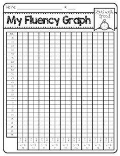 Fluency Graph Freebie