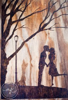 Custom Wood Burned Pyrography Art and Home by AKreativeKraning