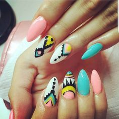 #nails  #colorful