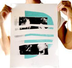 Serigraph, Screen Print, Collage, Art Print