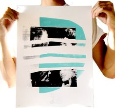 Serigraph, Screen Print, Collage, Art Print