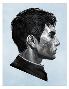a young god, full of mischief. his freckles are stars he stole from the pandyssian sky The Outsider by the-outsider-senpai.tumblr.com