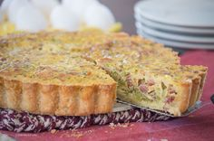 Dairy Free Quiche with Broccoli and Bacon