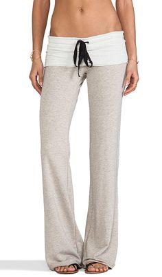 BUKINIE Pantalon Femme Taille Haute Push Up Large Ample Casual Couleur Unie Pantalons Palazzo Baggy Flare Palazzo Sarouel Taille /Élastique Pantalon en Bas