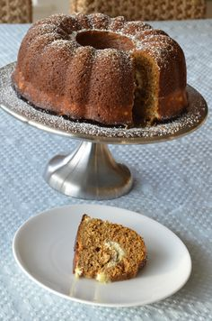 Pumpkin Spice Bundt Cake with Cream Cheese