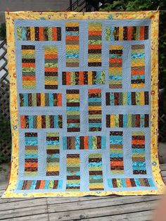 Dizzy Quilts: Stacks of Color