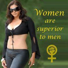 Superiority femdom Female